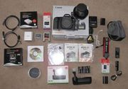 For sale Canon EOS-5D Mark II Digital SLR Camera Body Kit with EF 24-1